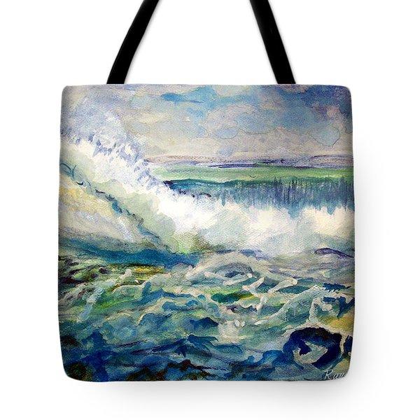 Surf 2 Tote Bag