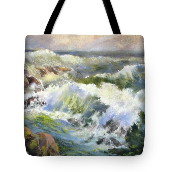 Surf Action Tote Bag