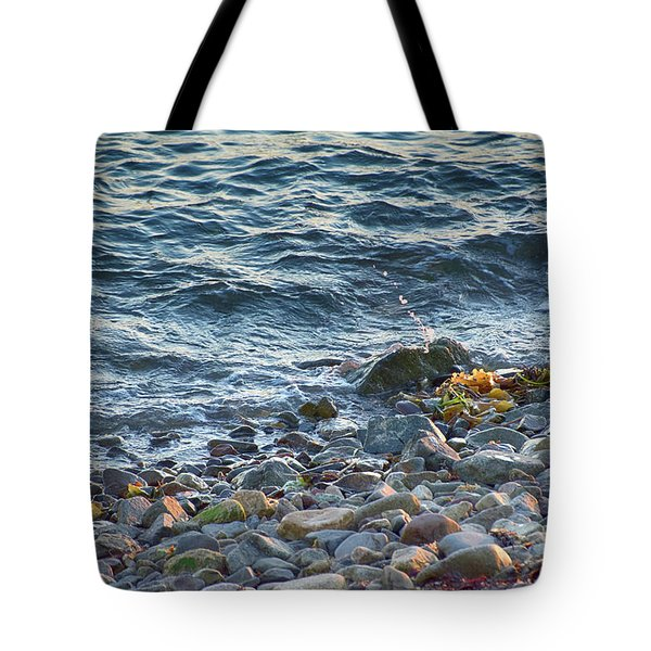 Surf And Rocks Tote Bag