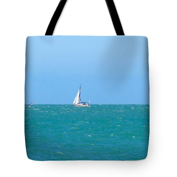 Surf And Sail The Sea Tote Bag