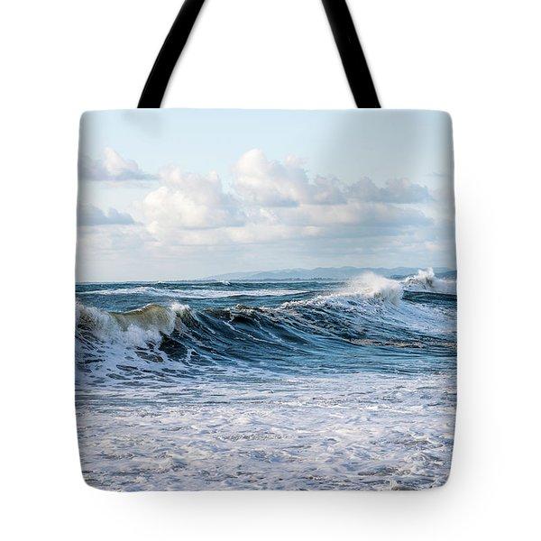 Surf And Sky Tote Bag