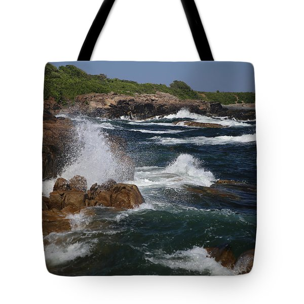 Surf At Biddeford Pool Tote Bag