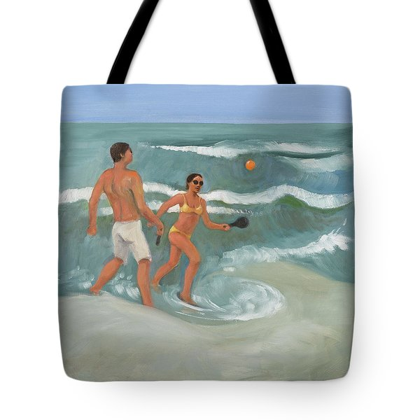 Surf Ball Tote Bag