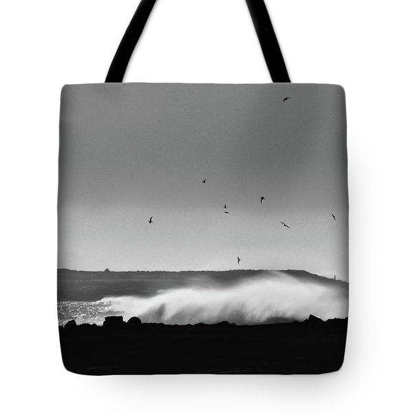 Surf Birds Tote Bag