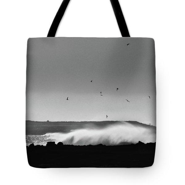 Surf Birds Tote Bag