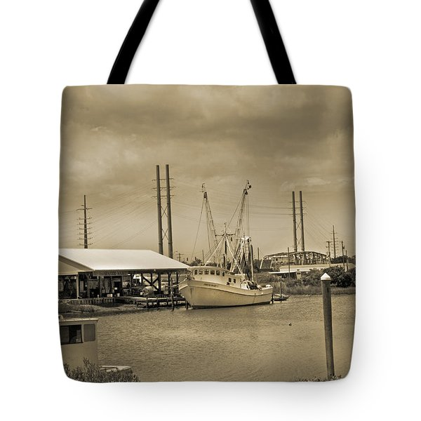 Surf City North Carolina Tote Bag by Betsy C Knapp