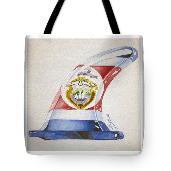 Surf Costa Rica Tote Bag by William Love