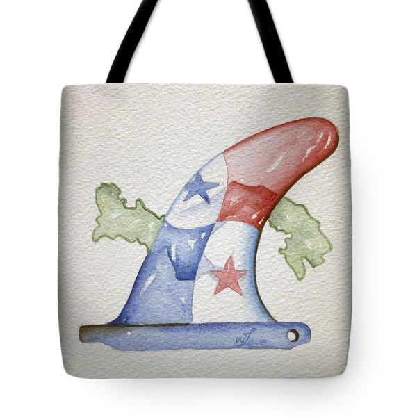 Surf Panama Tote Bag