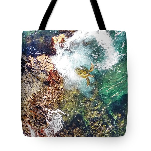 Surfacing Tote Bag