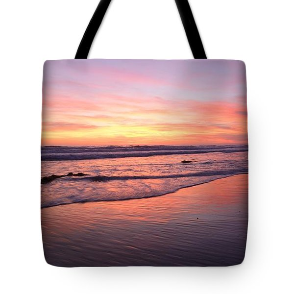 Surfer Afterglow Tote Bag