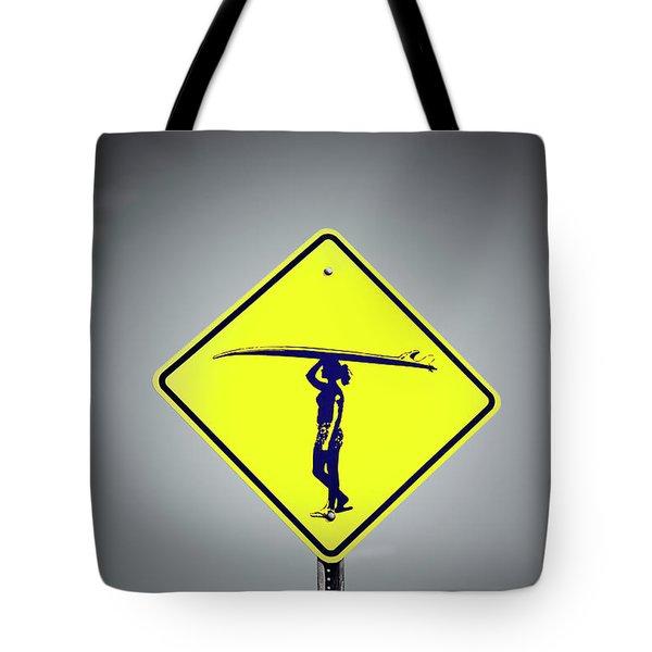 Surfer Girl #3 Tote Bag