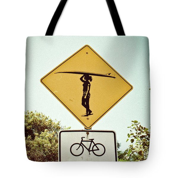 Tote Bag featuring the photograph Surfer Girl by Ana V Ramirez