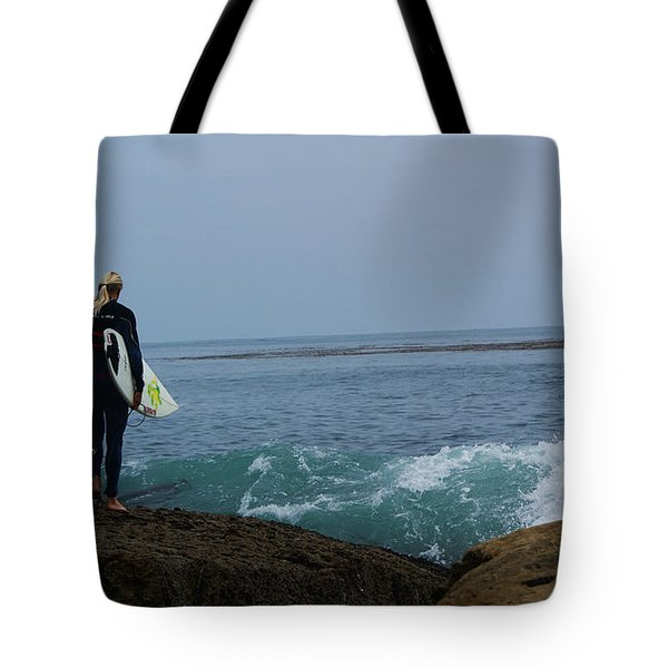 Surfer Ready Tote Bag
