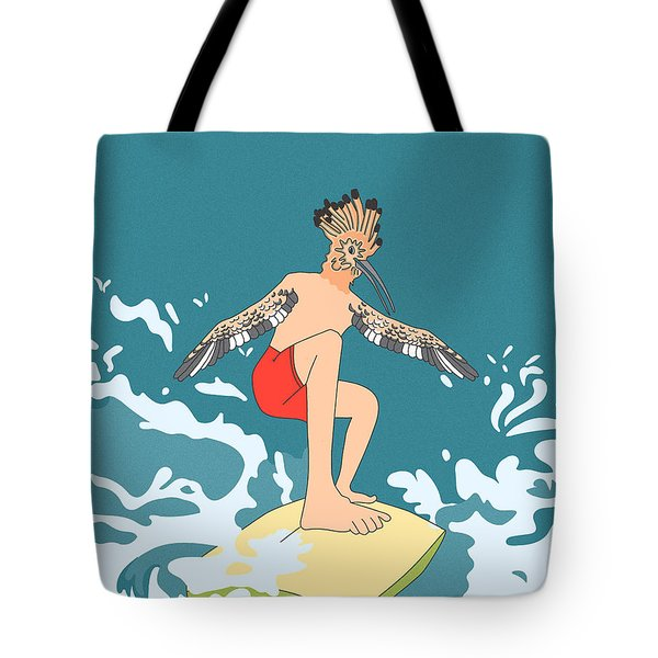Surferbird Tote Bag