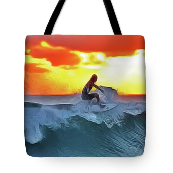 Surferking Tote Bag