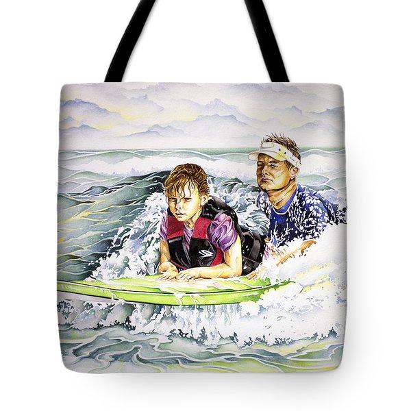 Surfers Healing Tote Bag