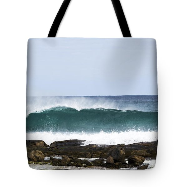 Tote Bag featuring the photograph Surfers Point by Angela DeFrias