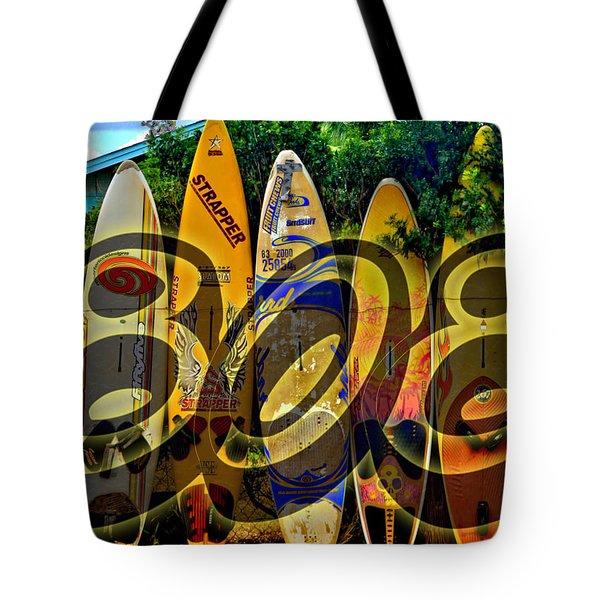 Surfin' 808 Tote Bag by DJ Florek