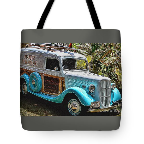 Surfin Safari Tote Bag