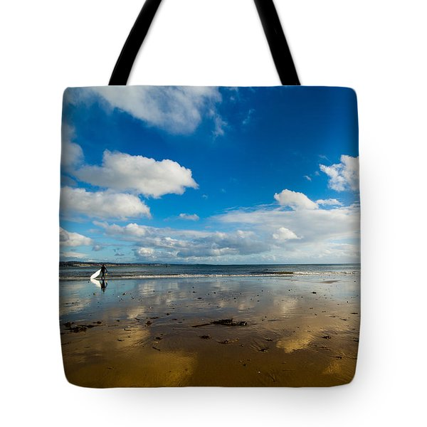 Surfing The Sky Tote Bag