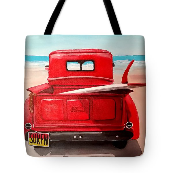 Surfn Tote Bag