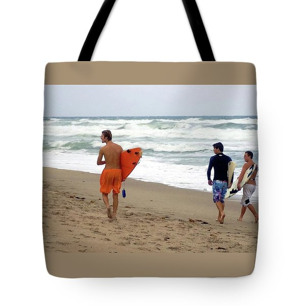Surfs Up Boys Tote Bag