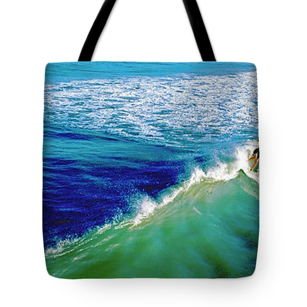 Surfs Up Daytona Beach Tote Bag