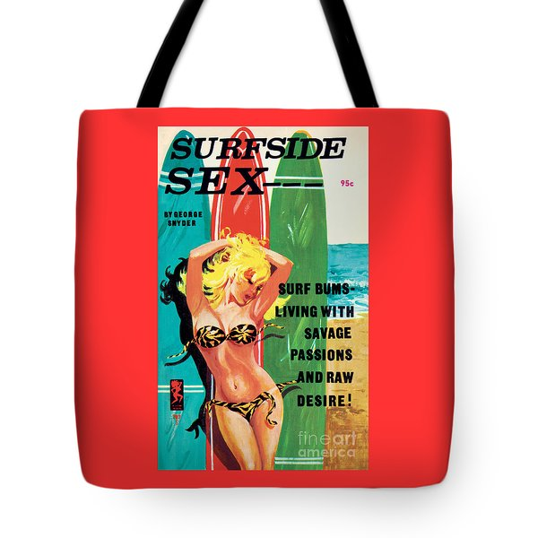 Surfside Sex Tote Bag