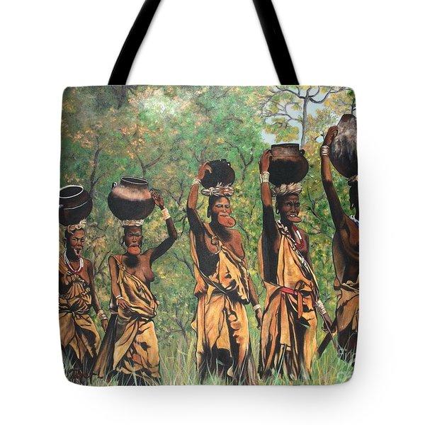 Blaa Kattproduksjoner        Surma Women Of Africa Tote Bag