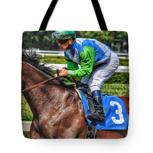 Surprise Twist W Javier Castellano Tote Bag
