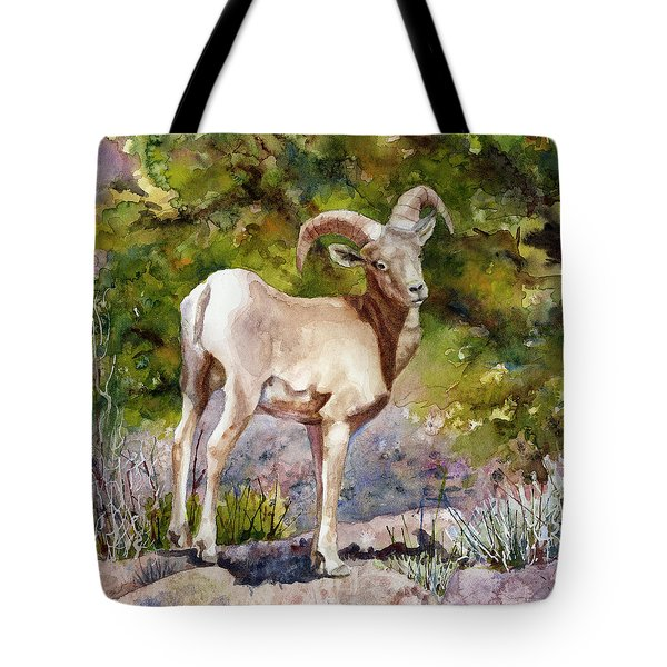 Surprised On The Trail Tote Bag
