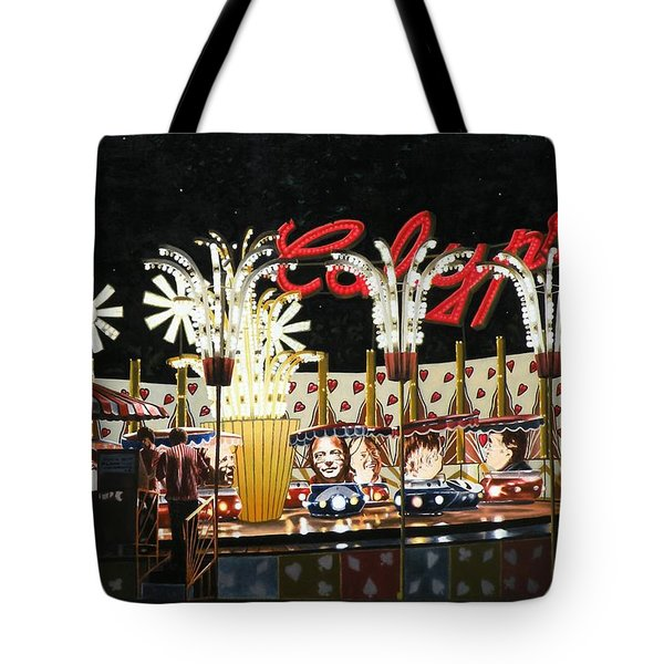 Surreal Carnival Tote Bag by Dave Martsolf