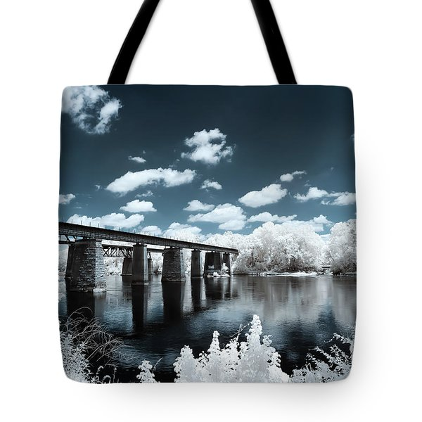 Surreal Crossing Tote Bag