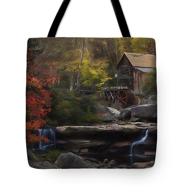 Surreal Glade Creek Tote Bag