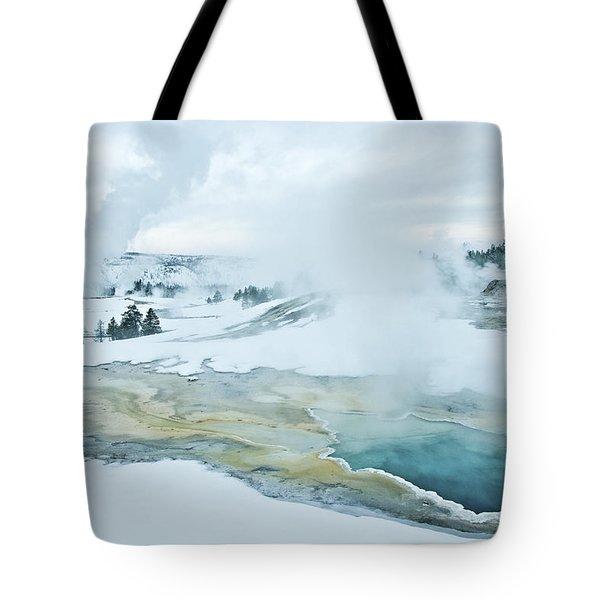 Surreal Landscape Tote Bag