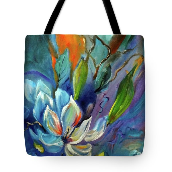 Surreal Magnolias Tote Bag