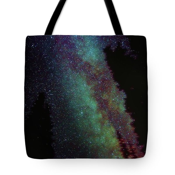 Surreal Milky Way Tote Bag