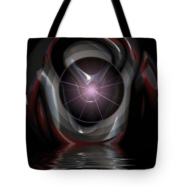 Surreal Reflections Tote Bag