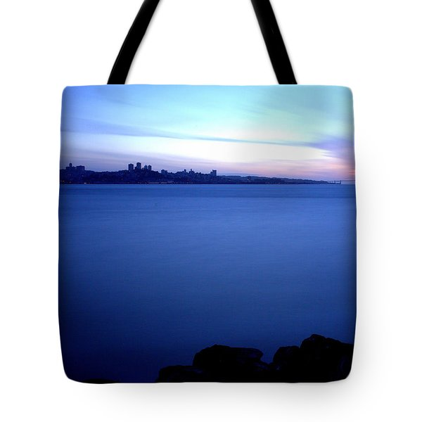 Tote Bag featuring the photograph Surreal San Francisco by John King