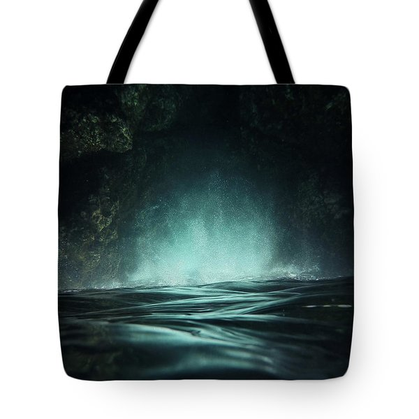 Surreal Sea Tote Bag