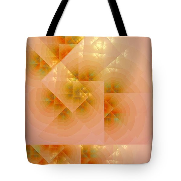 Tote Bag featuring the digital art Surreal Skylight by Richard Ortolano