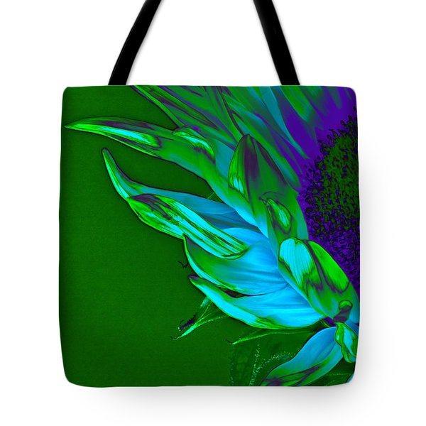 Surreal Sunflower  Tote Bag by Karen Lewis