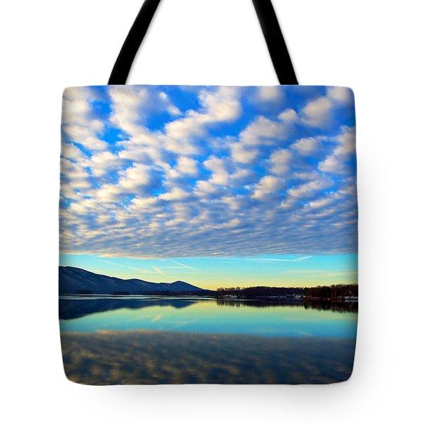 Surreal Sunrise Tote Bag