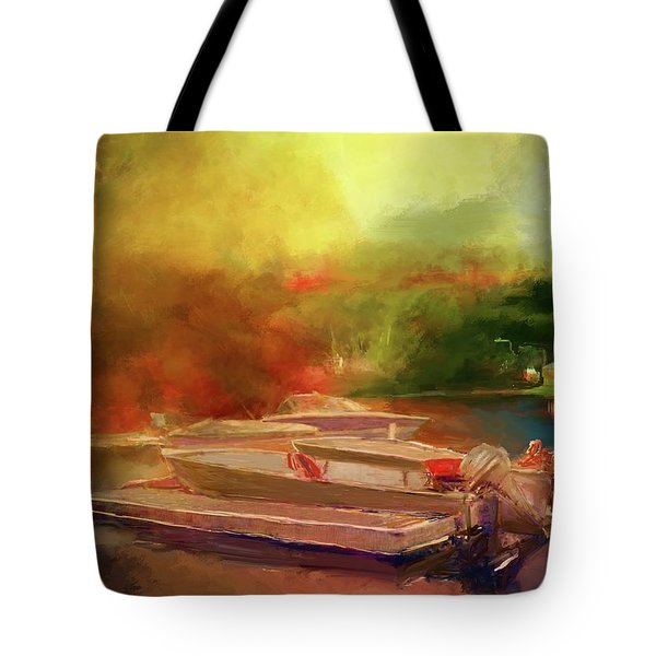Surreal Sunset In Spanish Tote Bag