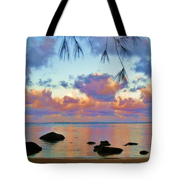 Surreal Sunset Tote Bag by Michele Penner