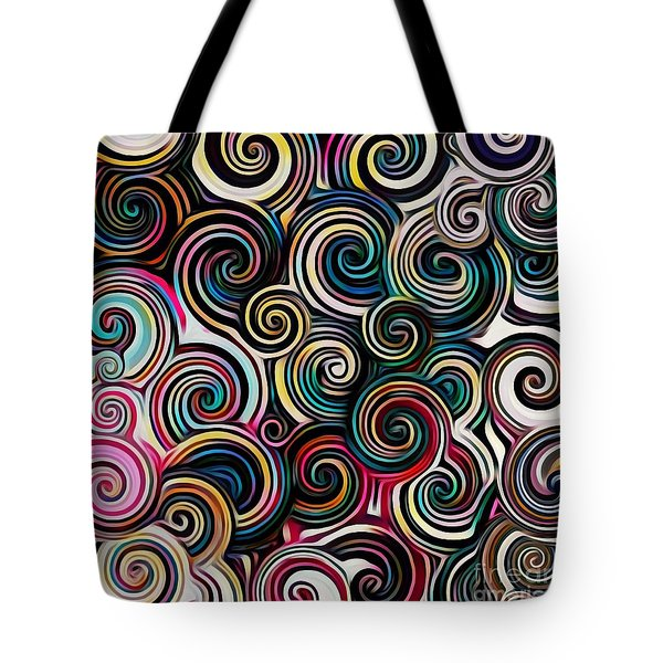Surreal Swirl  Tote Bag
