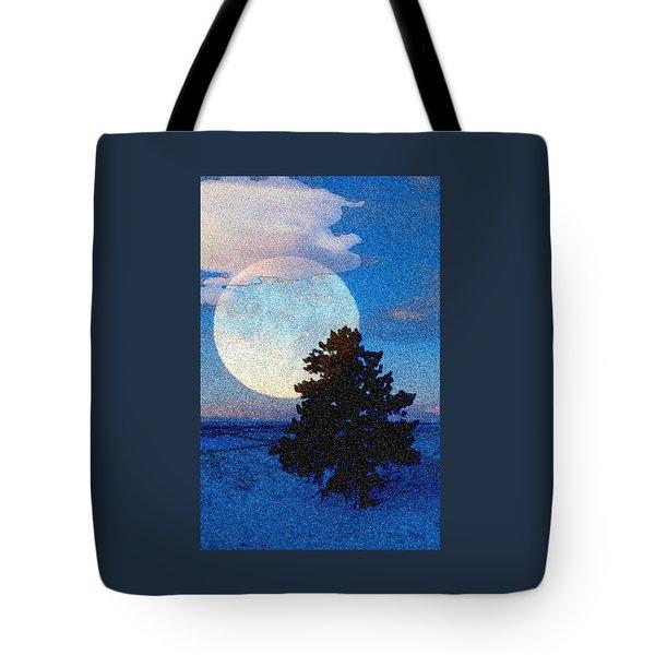 Surreal Winter Tote Bag