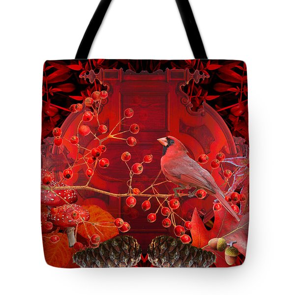 Surrealism Of Nature Autumn Colors Tote Bag