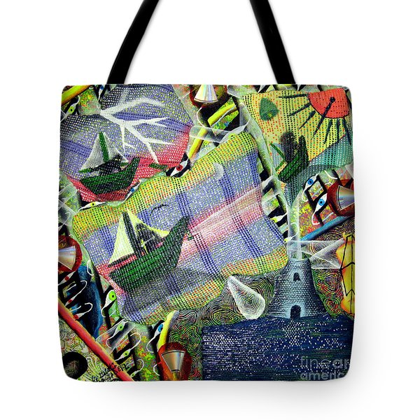 Surrealism Of The Souls Tote Bag