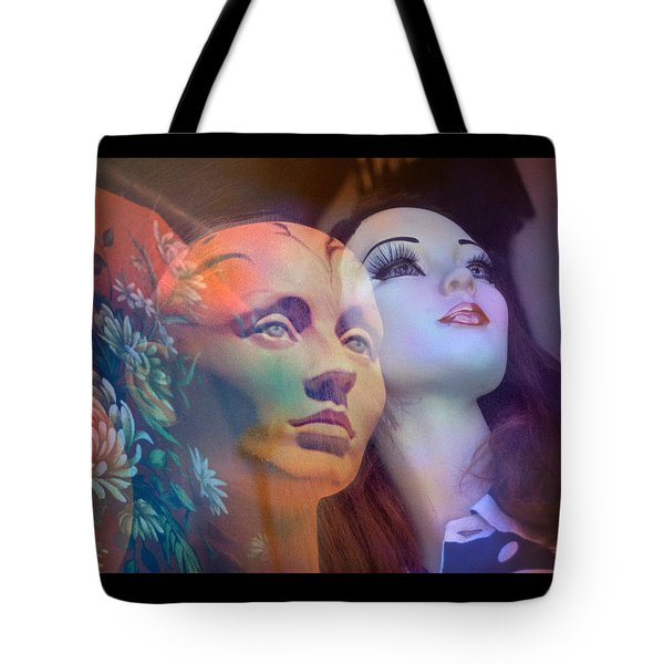 surrealist figure fine art - Do You See What I See Tote Bag